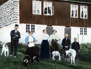 Fólkini í Leirvík í 1901 – í myndum og teksti