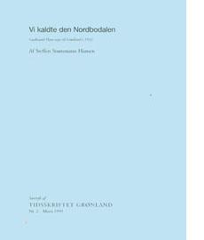 Download Vi kaldte den Nordbodalen. Gudmund Hatts Rejse til Grønland i 1932.